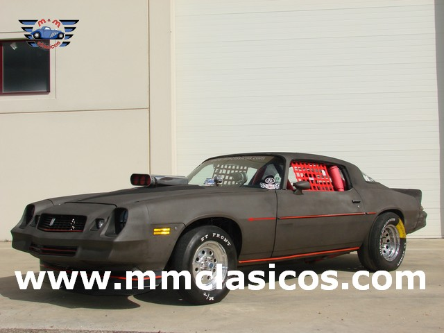 Muscle Car Americano Dragster Chevrolet Camaro 1978 Competición