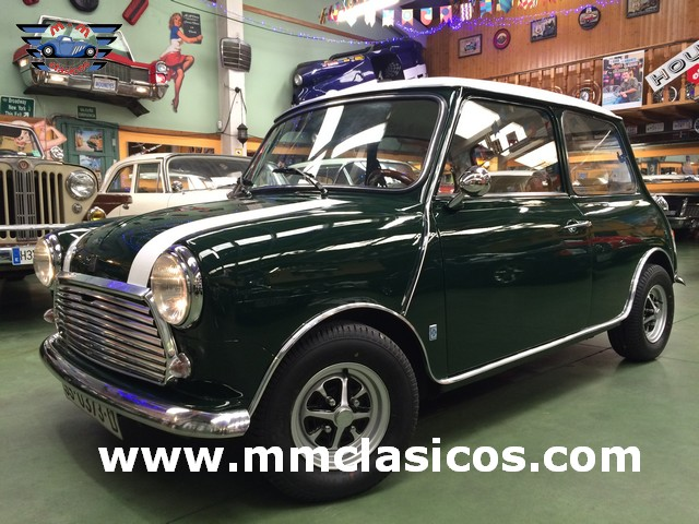 Restauración Mini Cooper 1300
